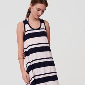 Ann Taylor Loft Beach dress XS NWT